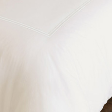 ENZO IVORY/WHITE DUVET COVER and Comforter