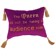 The Queen will not be taking an audience today