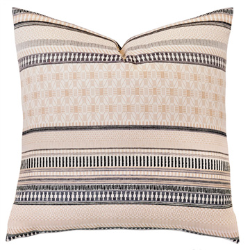 WILLOW MATELASSE EURO SHAM IN NEUTRAL