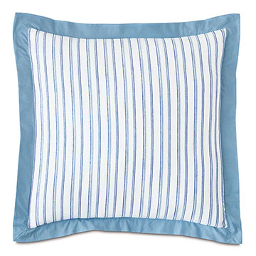 HULLABALOO STRIPED EURO SHAM