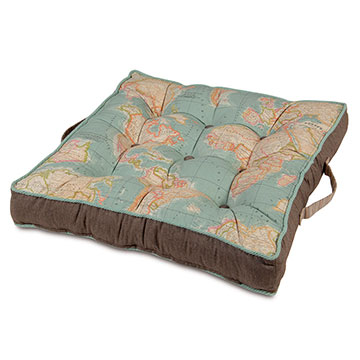 MONDE OCEAN FLOOR CUSHION