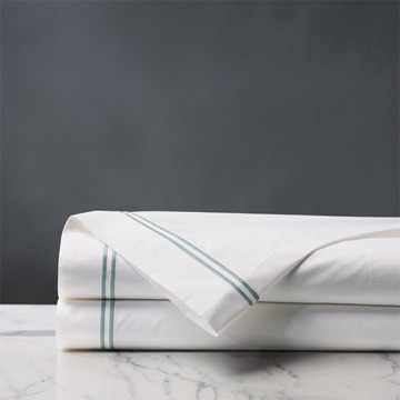 ENZO WHITE/LAKE FLAT SHEET