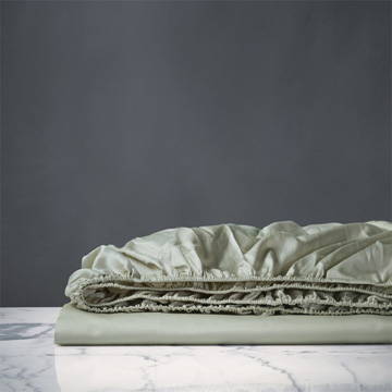 NUVOLA CLASSIC ALOE FITTED SHEET