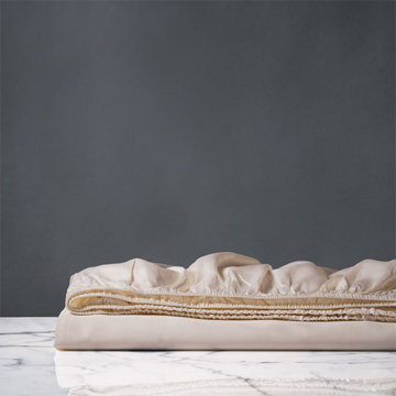 NUVOLA LUXE NECTAR FITTED SHEET