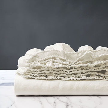 Shiloh Shell Fitted Sheet