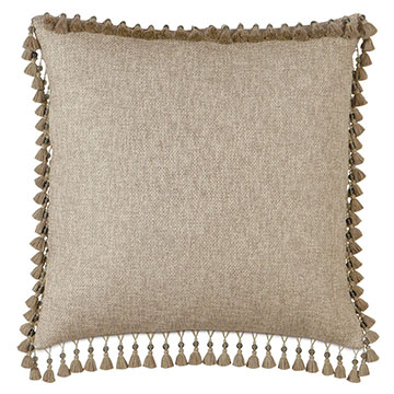 NAVARRO BEIGE WITH BEADED TRIM