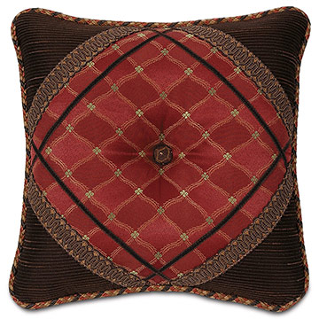 SADIE GARNET DIAMOND TUFTED