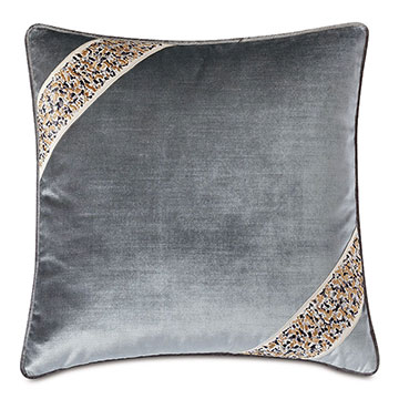 INDOCHINE VELVET DECORATIVE PILLOW