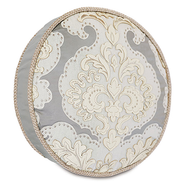 JOLENE ROUND DECORATIVE PILLOW