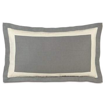 BREEZE SLATE/PEARL KING SHAM