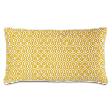 Zuni Lemon King Sham