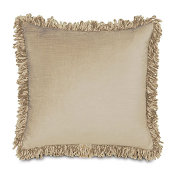LUCERNE TAUPE WITH LOOP FRINGE