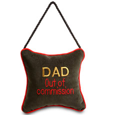 Dad out of commission