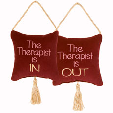 The Therapist is In/The Therapist is Out