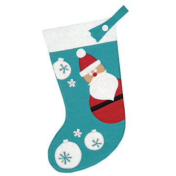 JOLLY FRIEND STOCKING