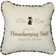 The Cat and its Housekeeping Staff reside here
