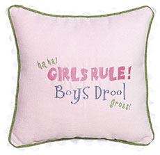 Ha Ha! Girls Rule! Boys Drool! Gross!