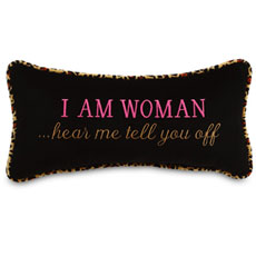 I am woman...hear me tell you off