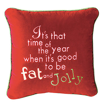 It's that time of the year when it's good to be fat and jolly