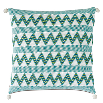 NAMALE CHEVRON DECORATIVE PILLOW