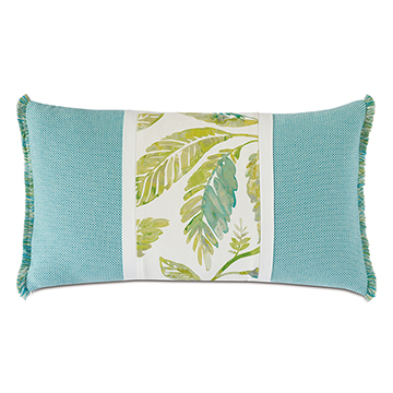 NAMALE PANELED DECORATIVE PILLOW