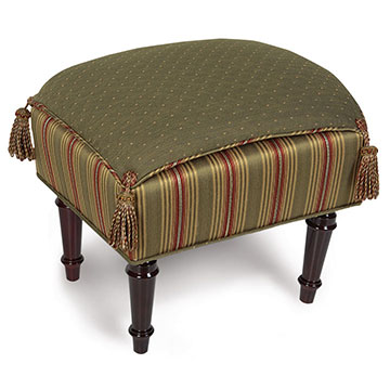 QUENTIN OLIVE PILLOW TOP STOOL