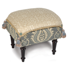 SYDNEY LINEN PILLOW TOP STOOL
