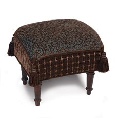 ASTORIA SEA PILLOW TOP STOOL