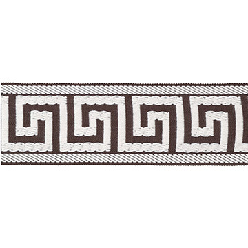 BORDER GREEK KEY C (BROWN)