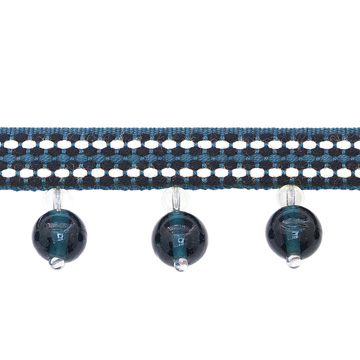 BEADED TRIM HAVEFORD BLEU