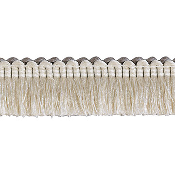 Brush Fringe Ezra A (Ivory)