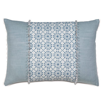 Penelope Beaded Decorative Pillow