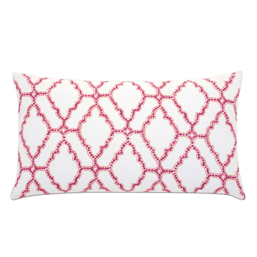 Paloma Trellis Decorative Pillow