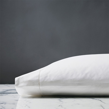 ROMA LUXE WHITE PILLOWCASE