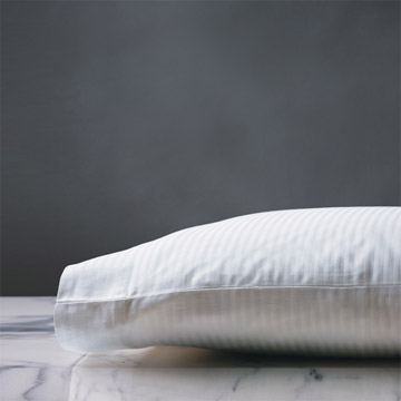 EMILIO WHITE PILLOWCASE