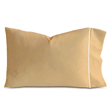 LINEA ANTIQUE/WHITE PILLOWCASE