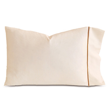 LINEA ECRU/ANTIQUE PILLOWCASE