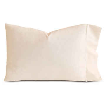 LINEA ECRU/WHITE PILLOWCASE