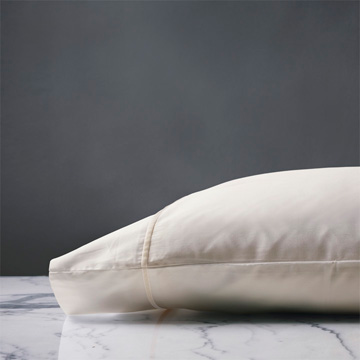 LINEA IVORY/ECRU PILLOWCASE