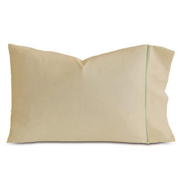 LINEA SABLE/ALOE PILLOWCASE