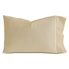 LINEA SABLE/ECRU PILLOWCASE
