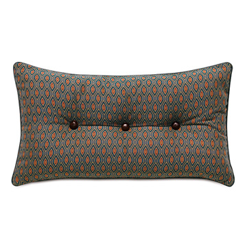 Rudy Button Tufted Accent Pillow