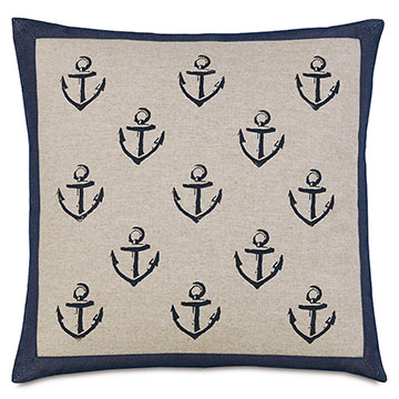 Block Printed Anchors