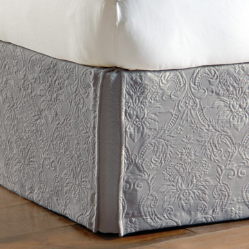 Sandrine Dove Bed Skirt