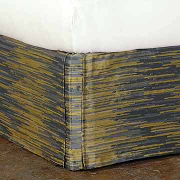HORTA OLIVE BED SKIRT