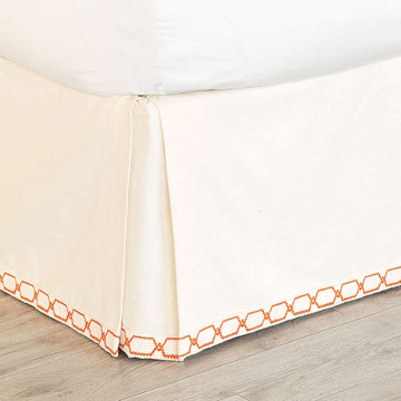 Witcoff Ivory Bed Skirt