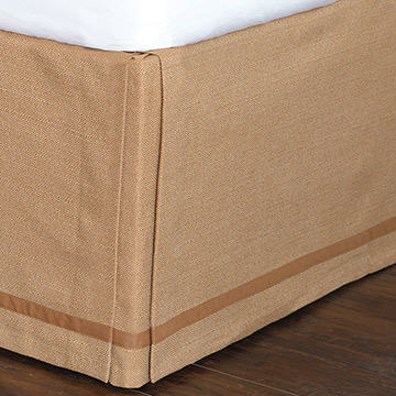 Walden Ochre Bed Skirt