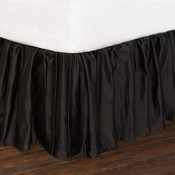 Witcoff Black Bed Skirt