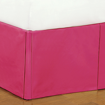 Decker Pink Bed Skirt