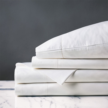 GIANNA CLASSIC WHITE SHEET SET